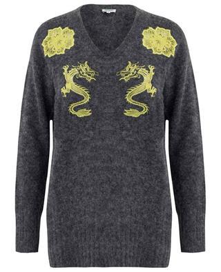 Pullover aus Alpaka- und Wollmix KENZO