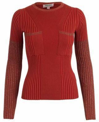 Pullover aus Stretch-Wollmix KENZO