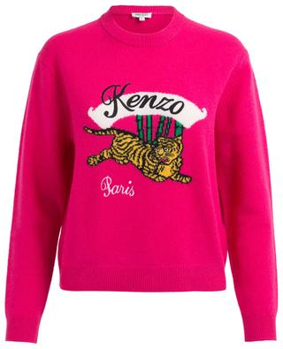 Pullover aus Wolle Bamboo Tiger KENZO