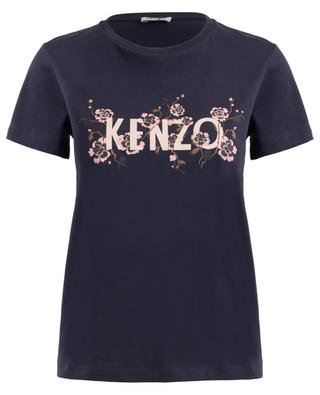 T-shirt en coton imprimé KENZO