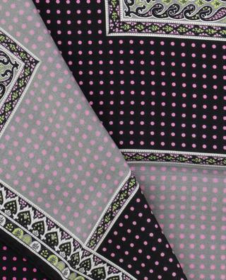 Bangalore silk pocket square ETRO