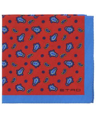 Jamul silk pocket square ETRO