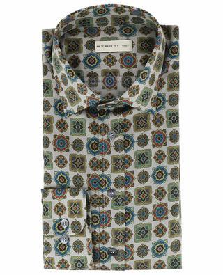 New Warrant printed cotton shirt ETRO