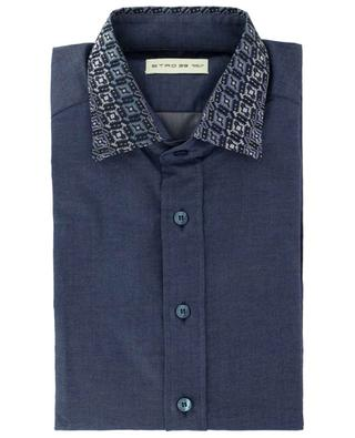 New Warrant cotton shirt with Paisley collar ETRO