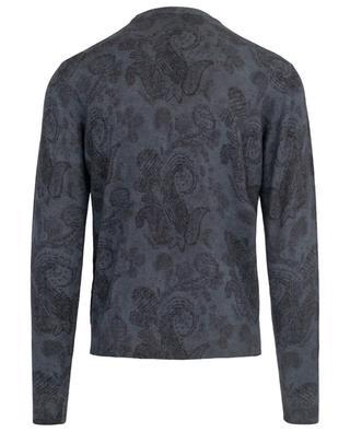 Printed wool jumper ETRO