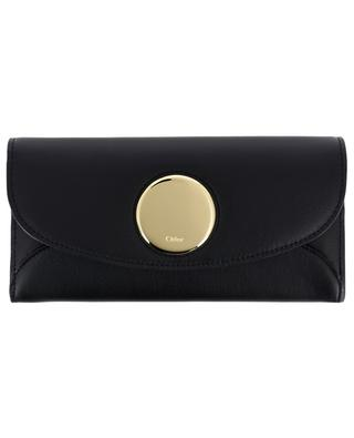 Large smooth leather wallet CHLOE