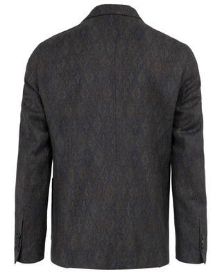 Patterned wool blazer ETRO
