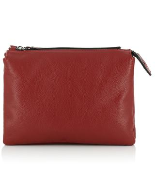 Three textured leather crossbody bag GIANNI CHIARINI