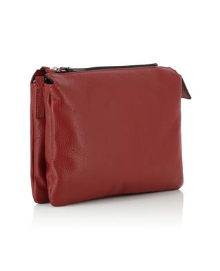 93f7a8003 ... Three textured leather crossbody bag GIANNI CHIARINI