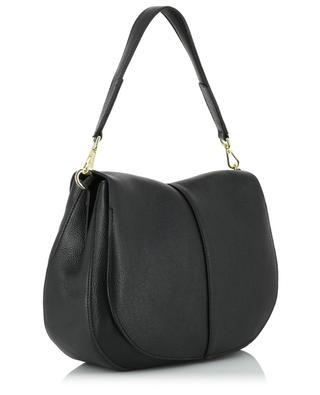 Helena Round grained leather crossbody bag GIANNI CHIARINI