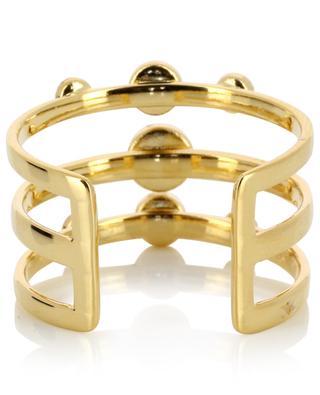 Vergoldeter, verstellbarer Ring Tribal CAROLINE NAJMAN