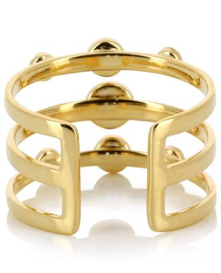 Vergoldeter, verstellbarer Ring Tribal CAROLINE NAJMAN