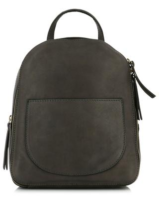 Sporty leather backpack GIANNI CHIARINI