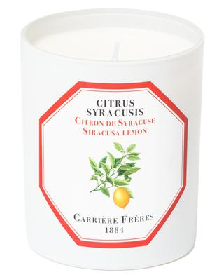 Citrus Syracusis scented candle CARRIERE FRERES