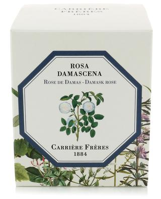 Rosa Damascena scented candle CARRIERE FRERES