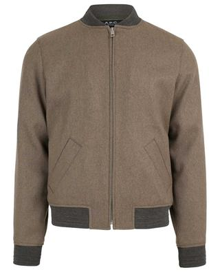 Gaston wool blend bomber jacket A.P.C.