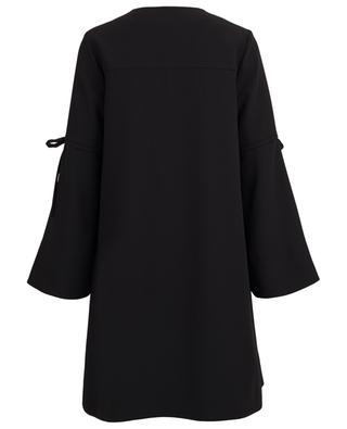 Crepe short dress SLY 010