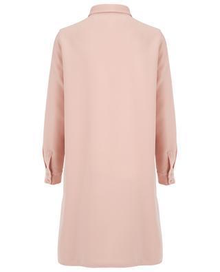 Robe chemise en crêpe SLY 010
