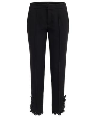 Straight trousers with lace SLY 010
