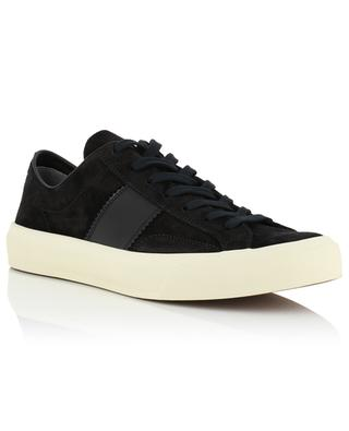 Sneakers aus Wildleder und Leder Cru TOM FORD