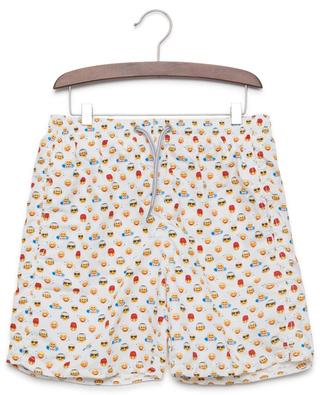 Badeshorts mit Print MC2 SAINT BARTH