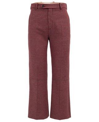 Virgin wool blend straight trousers CHLOE