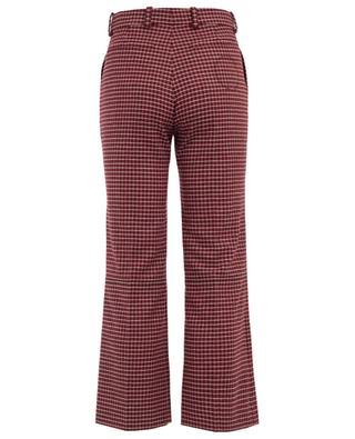 Pantalon droit en laine vierge mélangée CHLOE