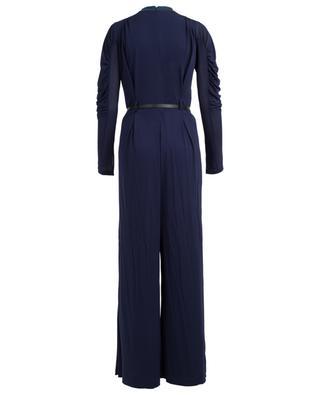 Combi-pantalon en viscose avec fronces CHLOE