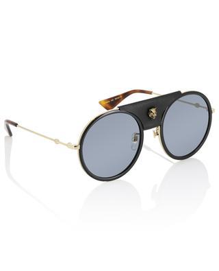 Acetate and metal sunglasses GUCCI