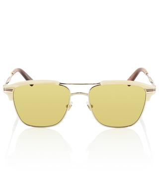 Metal and acetate sunglasses GUCCI