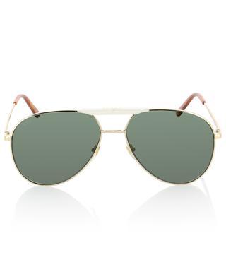 Sonnenbrille aus Metall in Fliegeroptik GUCCI