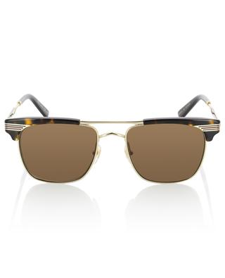 Acetate and metal sunglasses GUCCI