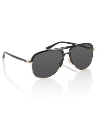 Sonnenbrille aus Metal und Acetat GUCCI