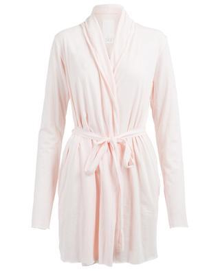 Wrap cotton dressing gown SKIN