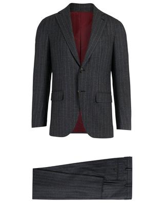 Striped wool suit CARUSO