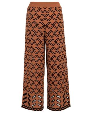 Pantalon tricot large Desert TEMPERLEY LONDON