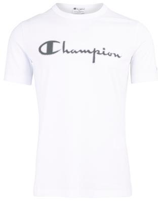 T-Shirt aus Baumwolle mit Print PAOLO PECORA