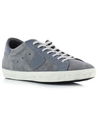 Paris leather and suede sneakers PHILIPPE MODEL