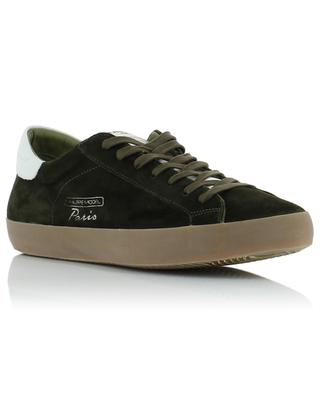Paris Vintage suede and leather sneakers PHILIPPE MODEL
