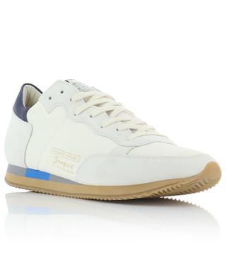Sneakers aus Leder, Wildleder und Mesh Tropez Vintage PHILIPPE MODEL
