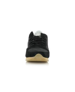 Tropez Vintage leather, suede and mesh sneakers PHILIPPE MODEL