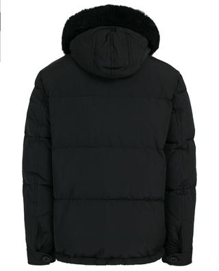 Quilted jacket with fur DSQUARED2