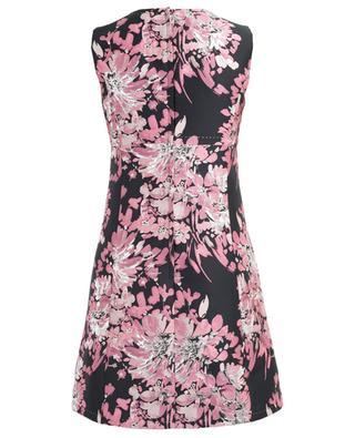 Floral jacquard short dress DOLCE & GABBANA