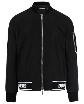 Technical fabric bomber jacket DSQUARED2