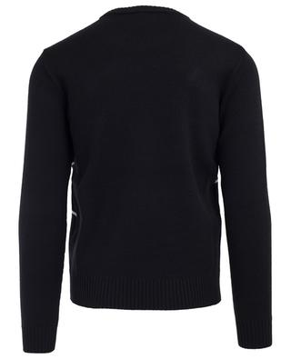 Bestickter Pullover aus Wolle 1995 MC DSQUARED2
