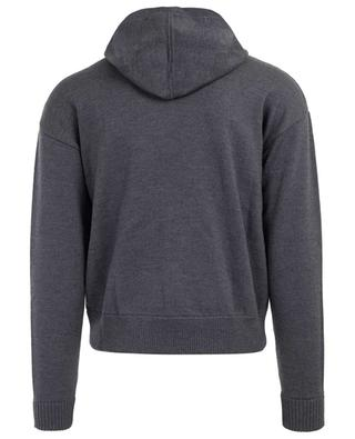 Embroidered wool jumper DSQUARED2