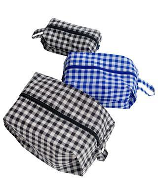 3D Zip Set travel pouches BAGGU