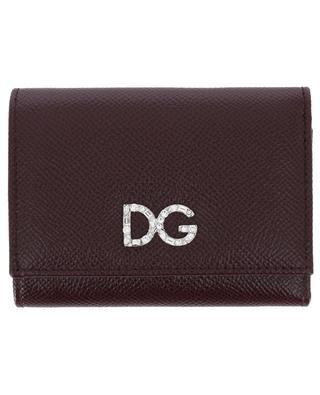Porte-monnaie en cuir texturé Dauphine DOLCE & GABBANA
