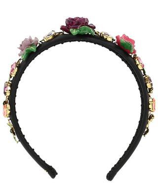Stirnband aus Satin DOLCE & GABBANA