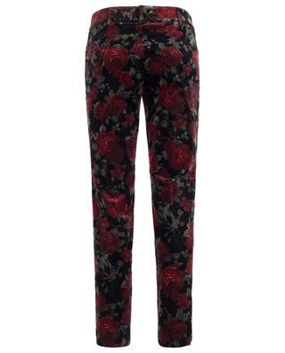 Pantalon en velours imprimé Renira CAMBIO